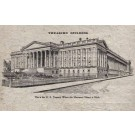 U. S. Treasury Building Macerated Money Novelty