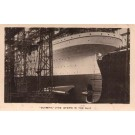 Ocean Liner Olympic Stern in Slip Real Photo