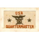 Quartermaster Military Embroidered Silk