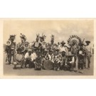 Texas Dressed Black Seminoles Real Photo