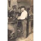 Carpenter's Workshop Real Photo