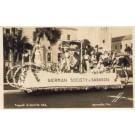 German Society of Sarasota Float Real Photo