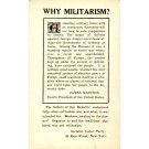 Socialist Party Call Against Militarism NYC