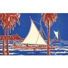 Hawaii Sailing Canoe Longboat Poem
