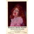 Smiling Girl Advert Dental Powder