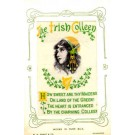 Irish Maiden Poem Woven Silk