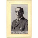 Portrait of President Wilson Woven Silk