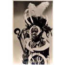 Black Warrior of Luo Tribe Real Photo