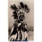 Africa Kenya Black Elder of Luo Tribe Real Photo