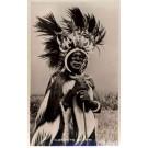 Africa Kenya Black Elder of Luo Tribe Real Photo