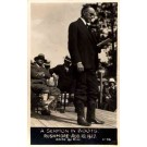 President Coolidge Reading Sermon RP