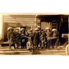 White Star Tours 1915 in Mexico Real Photo