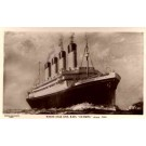 Ocean Liner Olympic Real Photo