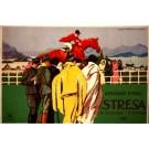 Jockey on Horse Italy Race 1925