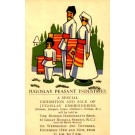 Wooden Toys Advert Exhibition of Yugoslav Crafts