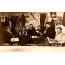 Cowboys with Playing Cards Real Photo