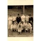 Mohawk Cricket Team Real Photo