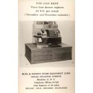Advert Cash Register Real Photo