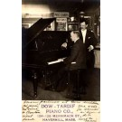 Piano Player Advert Pianos Real Photo