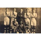 Basketball Team Real Photo
