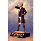 Scotsman Drinking from Glass Whisky Advert