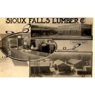 SD Sioux Falls Lumber Yards Office Real Photo
