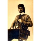 Ben Ali Arab Troupe Performer Real Photo