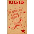 WWII Anti-Hitler as Dog Poem Fold-Out