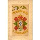 Embroidered Silk British Regimental Highlanders