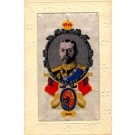 Woven Silk King of England WWI