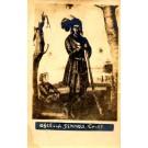 Seminole Indian Chief Osceola Real Photo