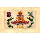 Embroidered Silk Cannon Regimental