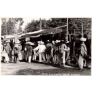 Mexico Mexicans at Market Real Photo Brehme