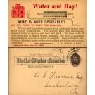 Advert Hay Water Pioneer