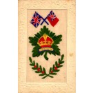 Canada Maple Leaf Embroidered Silk