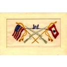 Infantry U.S. Regimental Embroidered Silk