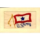 Army U.S. Regimental Embroidered Silk