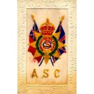 Embroidered Silk WWI ASC