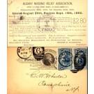 Advert Masonic Relief Association Deaths Pioneer