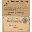 Advert Exposition Toilet Soap NYC Pioneer