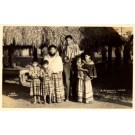 Seminole Indian Family FL Real Photo