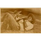 Seminole Indian Cowboy Bill Alligator Miami FL RP