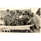 Seminole Indian Babies Contest FL Miami Real Photo