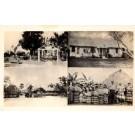 FL Everglades Seminole Indians Church Village RP