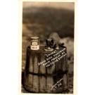 Advert Condensed Milk Kitten on Barrel RP