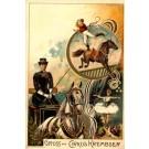 Greetings from Circus Jockey on Horse Ballerina