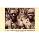 Tatooed African Blacks 1933 Chicago Expo
