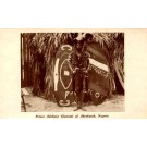 1933 Chicago Expo Africa Nigeria Black Prince
