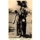 Africa Black Witch Doctor Real Photo