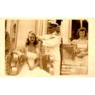 Admiral Byrd Crowning Queen Real Photo
